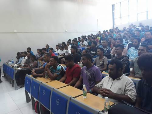 Tertiary students have been consulted on the National Budget. Picture: ALISI VUCAGO