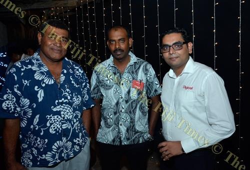 Nasoni Tamani, Mahesh Mistry and Ravneet Prabhu. Picture: BALJEET SINGH