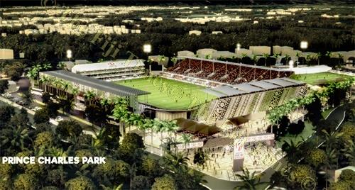 The proposed new look Prince Charles Park in Nadi come year 2020. Picture: Supplied
