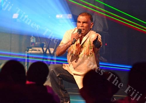 Ronald Jai performs at a concert. Picture: FILE