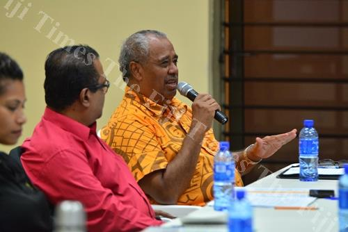 Unity Fiji leader Savenaca Narube says Fiji urgently needs a vision that integrates the diversity that we cherish. Picture: File