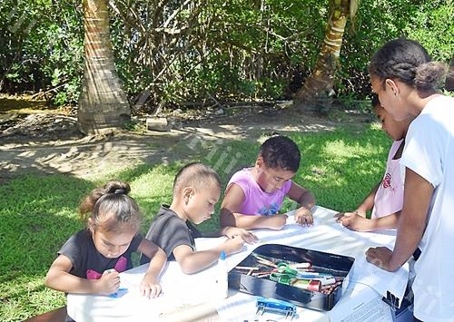 NatureFiji/MareqetiViti Learn from a Scientist program allows children to learn about the importance of Fiji's biodiversity particularly the forest and the wetland ecosystems. Picture: ANA MADIGIBULI