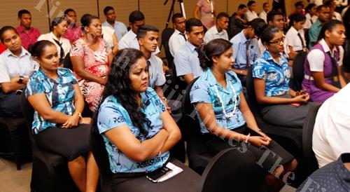 Teachers and students during the Kula Film Awards launch at the GPH in Suva last Friday. Picture :ATU RASEA
