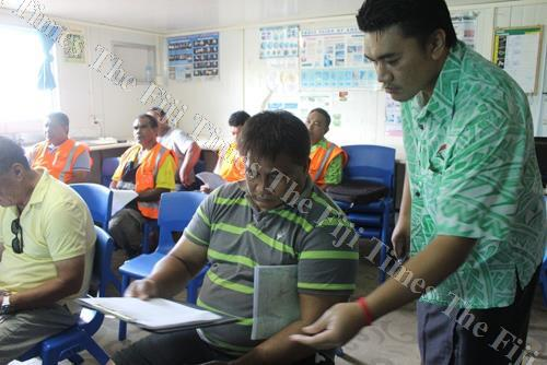 Participants engage in discussions at the Food Safety Program training. Picture: SUPPLIED