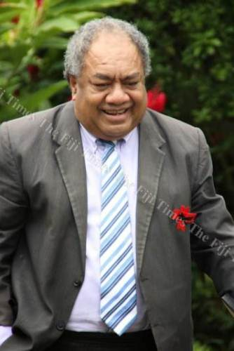 President of the Methodist Church in Fiji Reverend Dr Epineri Vakadewavosa. Picture: FT FILE