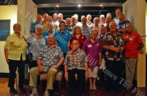 New Zealand war veterans during a group photo shoot. Picture: JONACANI LALAKOBAU