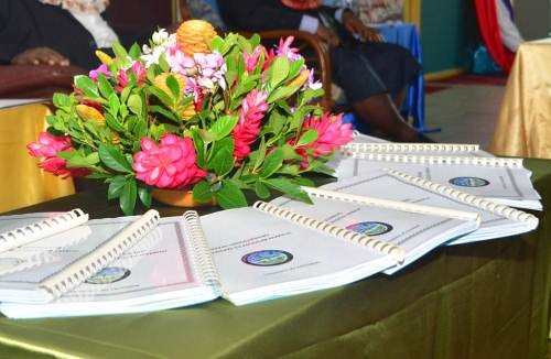 The Ministry of Fisheries launched its Human Resources Management Operational Manual at Takayawa House in Toorak, Suva, today. Picture: JONA KONATACI
