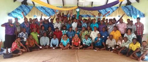 Participants of the Boat Masters Training in Ra. Picture: SUPPLIED