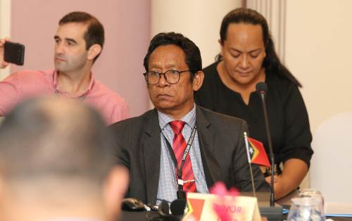 Participants at the 6th Pacific Sports Ministers� meeting which is currently underway in Nadi today. Picture: SUPPLIED