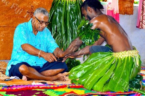 The Tui Cakau, Ratu Naiqama Lalabalavu, is also known as the vuvu ni vanua o Cakaudrove. Picture LUKE RAWALAI