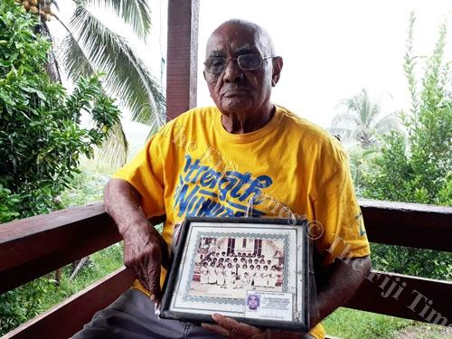 Setareki Nabeqa at his home in Tovata outside Labasa. Picture: LUISA QIOLEVU