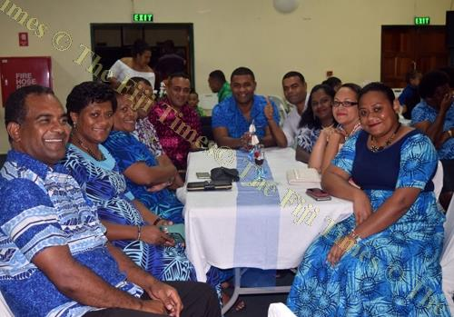 FICAC staff members were also present at the wedding reception. Picture: SENIMILI BRADBURGH