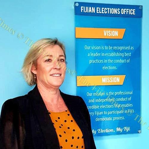 Newly appointed deputy Supervisor of Elections Karyl Winter. Picture: SUPPLIED
