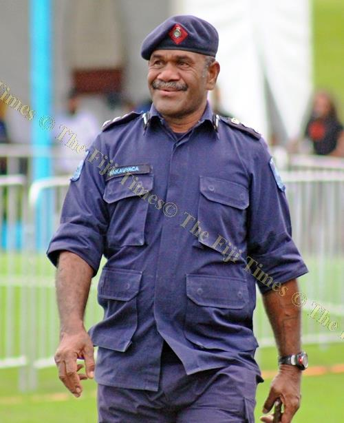 Outgoing divisional police commander North SSP Verani Nakauyaca. Picture: FT FILE