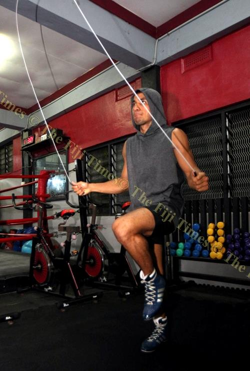 Winston Hill during a training session. Picture: ELIKI NUKUTABU