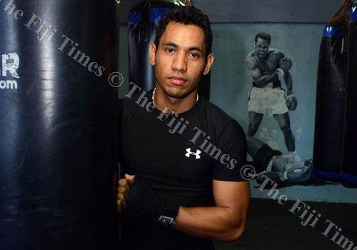 Fiji's top amateur boxer Winston Hill won his fight against world champion Lyndel Marcellin of St Lucia this afternoon in Australia. Picture: FT FILE
