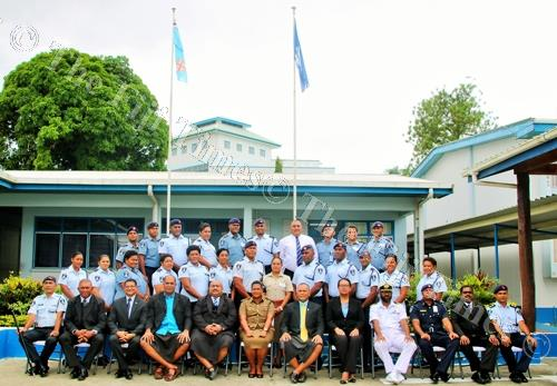 Officers from the Fiji Police Force, the Summary Prosecutions, and the Republic of Fiji Military Forces after completing their 2018 Basic Prosecution Course at the Fiji Police Force Training Academy at Nasova in Suva. Picture: SUPPLIED