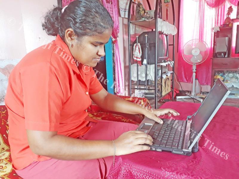 Savita Devi is a quick learner. Picture LUISA QIOLEVU