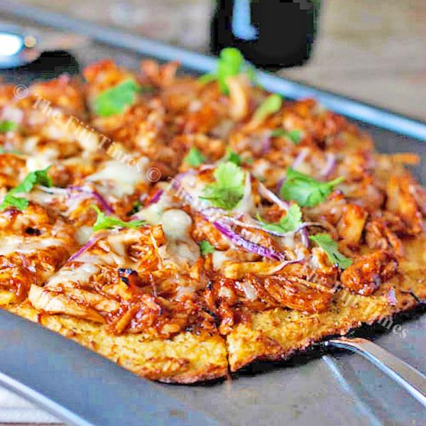 Nothing beats a barbecue chicken pizza with real chicken. Picture: SUPPLIED