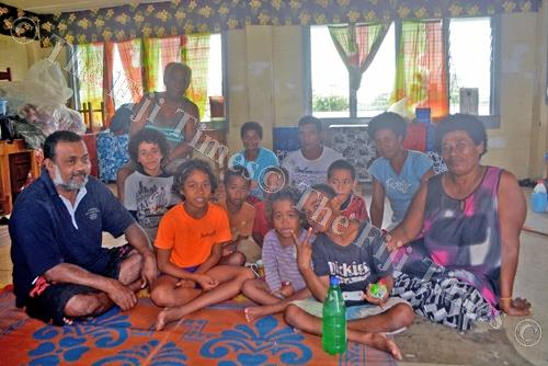 Evacuees at the Tavua District School. Picture: LUKE NACEI