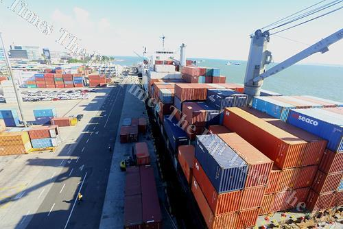 Fiji Ports in Suva. Picture: SUPPLIED