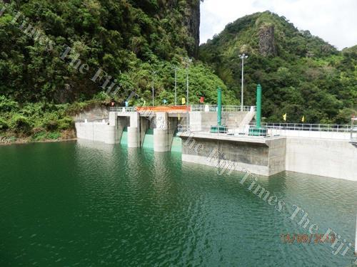 A hydro dam. The author says we are reaching the end of our hydro-electricity potential because of the ever increasing demand. Picture: SUPPLIED