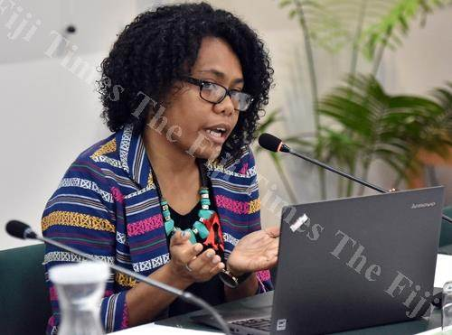 FCOSS newly-appointed executive director Vani Catanasiga. Picture: FT FILE