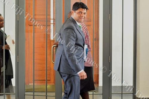 Attorney-General and Minister for Economy, Public Enterprises, Civil Service and Communications Aiyaz Sayed-Khaiyum. Picture: JOVESA NAISUA