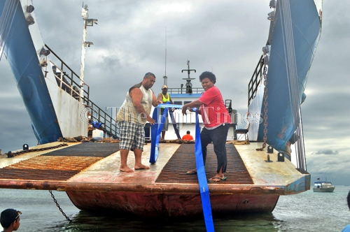 The Fiji Times » Update: Maritime water carting exercise