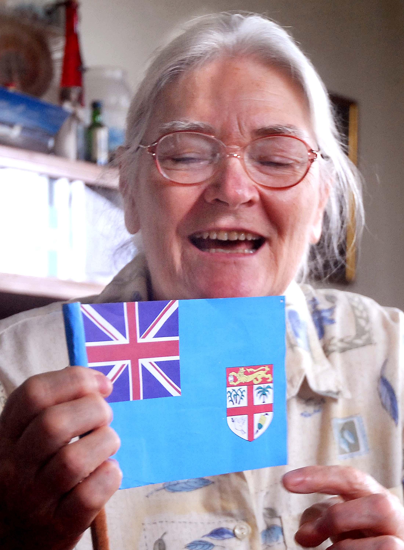 The Fiji Times » Tessa the woman that designed Fiji's flag