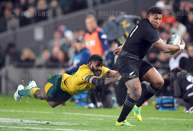 Rugby Union 2018 Bledisloe Cup Championship Australia V New Zealand Eden Park Auckland August 25 S Waisake