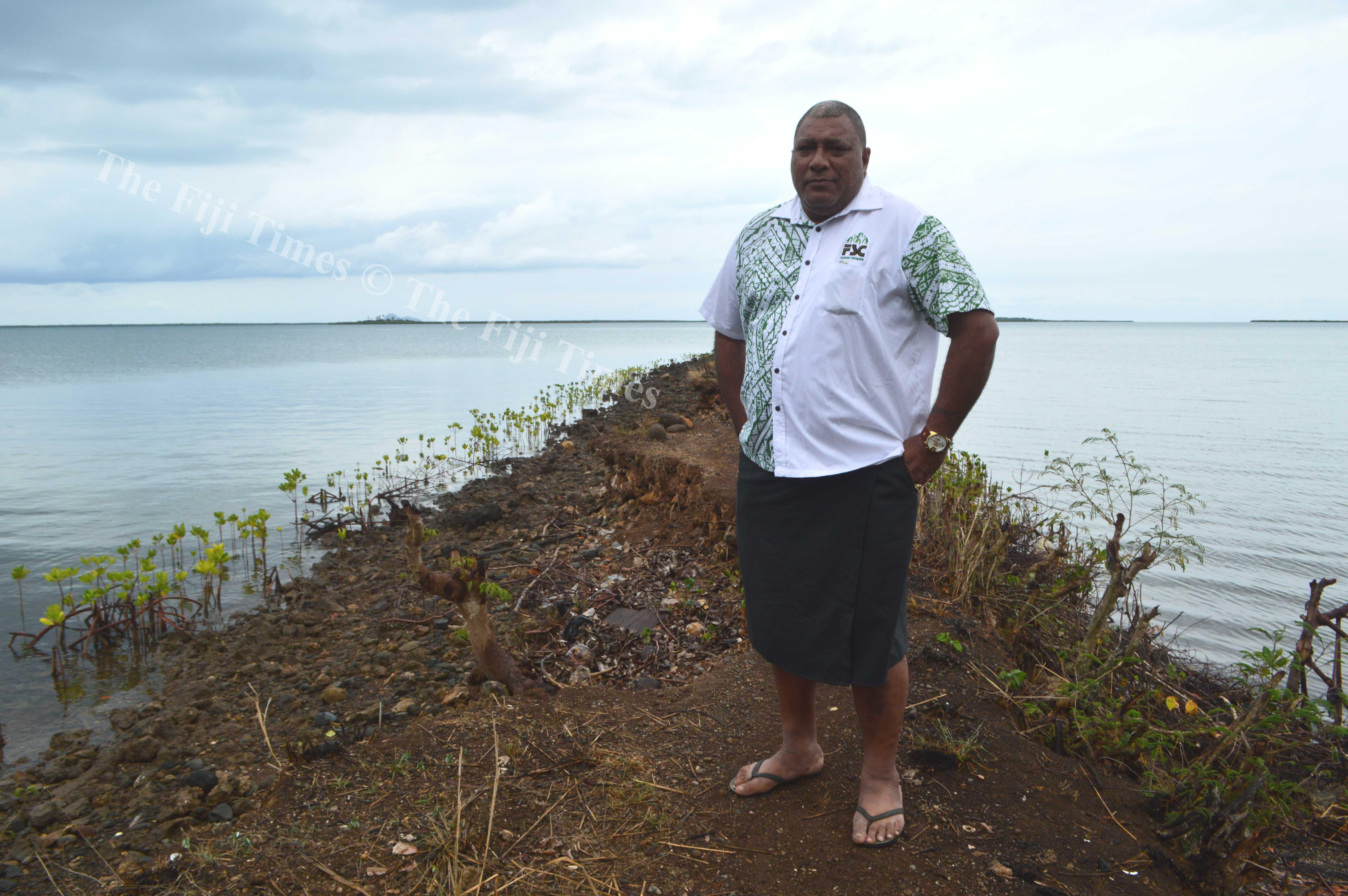 Tui Macuata Ratu Wiliame Katonivere believes the qoliqoli should be protected. Picture SERAFINA SILAITOGA