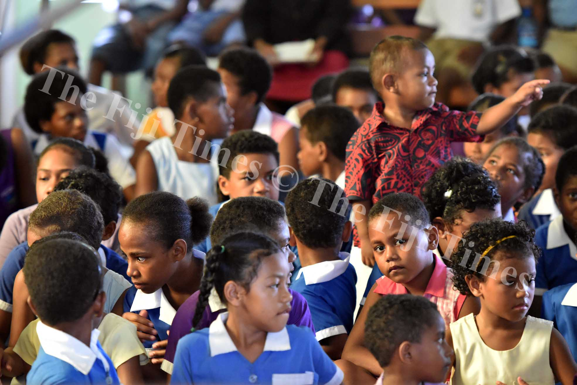 The school students from Nadera area had a special church service dedicated to them at Nadera Methodist Church yesterday. Picture: RAMA