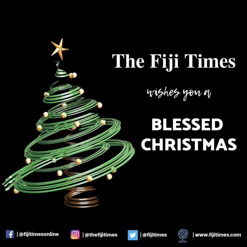 Merry Christmas To You.The Fiji Times A Merry Christmas To You