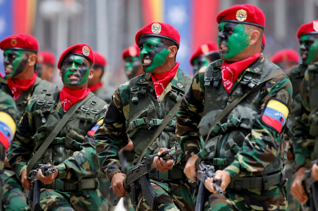 The Fiji Times » Trump to say Venezuela's military at risk for ...