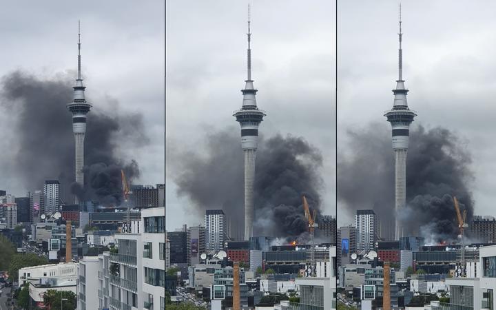 Auckland Fire New Zealand Fire Engulfs 800 Million