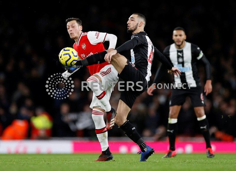 The Fiji Times Lacazette Ends Goal Drought As Arsenal Crush Newcastle 4 0