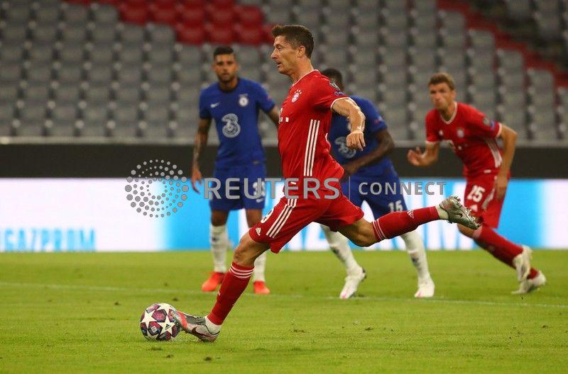 The Fiji Times Lewandowski Dazzles As Bayern Crush Chelsea To
