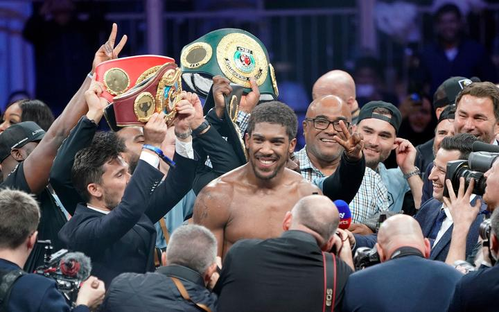 The Fiji Times Anthony Joshua Title Fight Back On There are 2 joshua gomez for sale on etsy, and they cost sgd 31.25 on average. anthony joshua title fight back on
