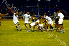 Nadi's Sanivalati Ramuwai goes on attack against Suva during their match at Churchill Park Lautoka. Picture: REINAL CHAND