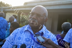 SODEPLA Leader Sitiveni Rabuka at the Party's Annual General Meeting in Lautoka. Picture: SHAYAL DEVI