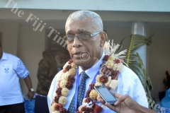 SODELPA President Ratu Naiqama Lalabalavu at the Annual General Meeting in Lautoka. Picture: SHAYAL DEVI