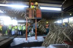 Fiji Sugar Corporation's Lautoka Mill began the crushing season yesterday. Picture: REINAL CHAND