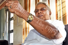 Fiji Labour Party leader Mahendra Chaudhry during an interview at his office. Picture: RAMA.