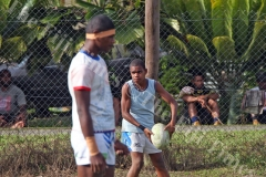 Smuela Yalayala Walai trains with his Queen Victoria School U15 rugby side before their match at the Fiji Secondary Schools Eastern Zone competition at Ratu Cakobau Park ground 2 last month. Picture: JONACANI LALAKOBAU
