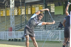 Fiji Airways 7s player Josua Tuisova in action during training at Prince Charles Park in Nadi. Picture: REINAL CHAND