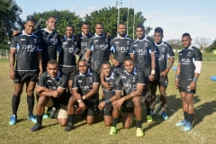 Fiji Airways 7s Team poses for a photo at Prince Charles Park in Nadi. Picture: REINAL CHAND