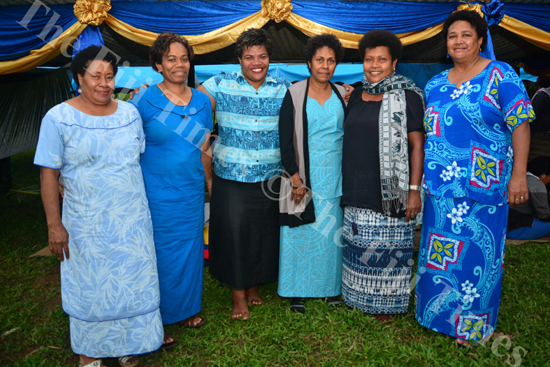 Ex scholars and parents of Lelean Memorial School at the schools 75th anniversary celebrations. Picture: JOVESA NAISUA