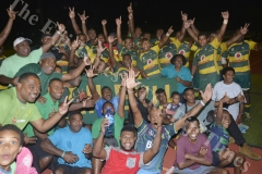 Members of the Tailevu rugby side at Churchill Park in Lautoka yesterday. Picture: BALJEET SINGH