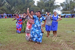 Lelean Memorial School students, old scholars and parents dance to the beat of the music during the school's Diamond Jubilee cebration at the school ground in Nausori on Friday, July 06, 2018. Picture: SOPHIE RALULU